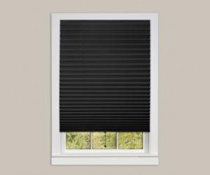 Achim Home Furnishings 1-2-3 Vinyl Room Darkening Temporary Pleated Window Shade Review