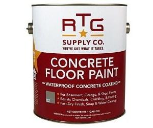 RTG Waterproof Concrete Floor Paint Review