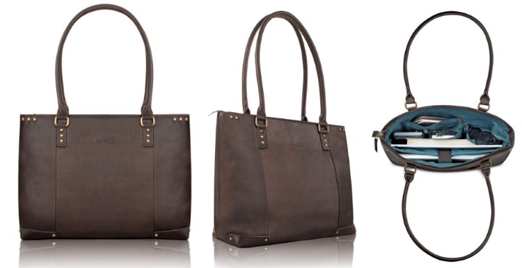 Solo Jay 15.6 Inch Leather Laptop Carryall Tote Review