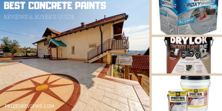 Best Concrete Paint - Reviews and Buyer's Guide