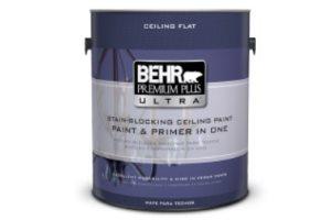 BEHR PREMIUM PLUS ULTRA Stain-Blocking Ceiling Paint Review